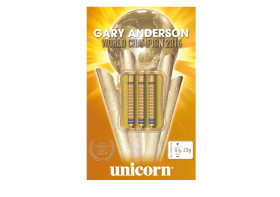 "Стрели за стил дартс Unicorn ""Gary Anderson"" GOLD Limited Edition"
