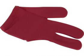 Billiard Glove Dynamic Deluxe Red